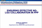 Ensuring Effective LGU Collaborationo Presentation