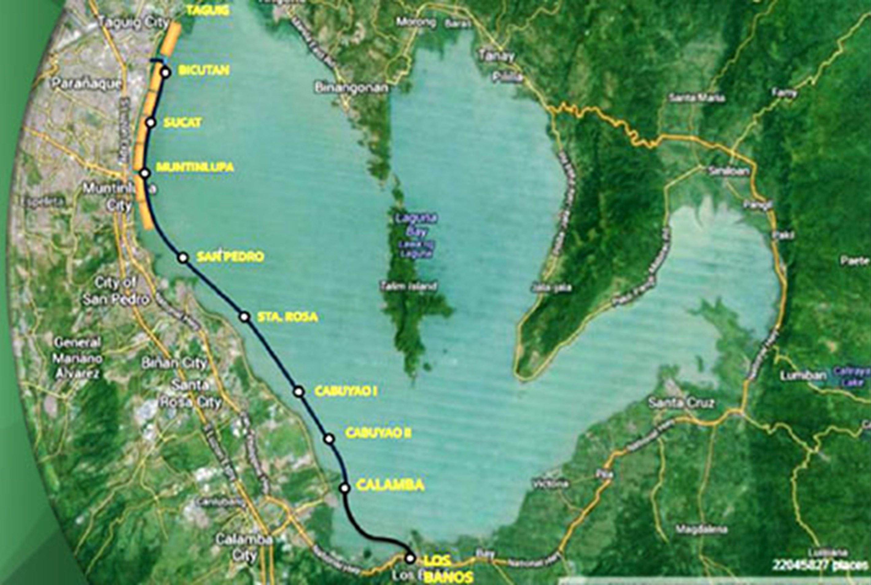 Laguna Lakeshore Expressway Dike