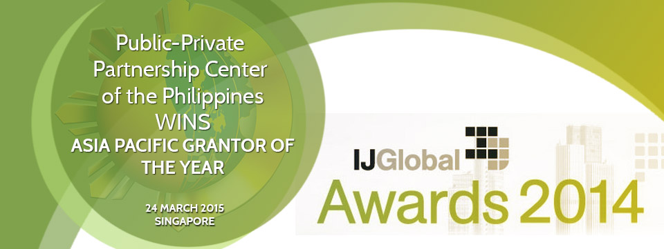 PPPC wins IJGlobal 2014 Asia Pacific Awards' Grantor of the Year