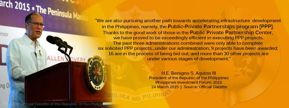 Philippines Investment Forum 2015-PNoy-Speech