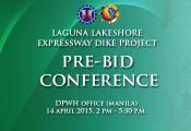 Laguna Lakeshore Pre-bid Conference