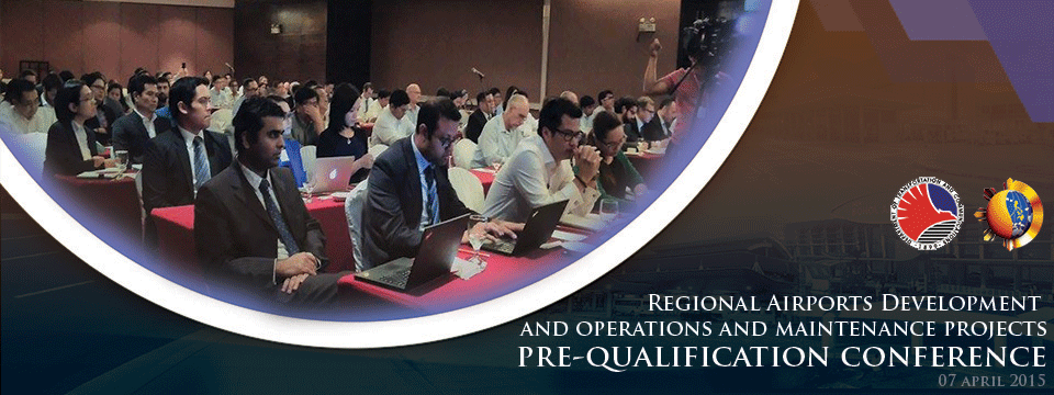 Prequalification conference for the Regional Airports Project