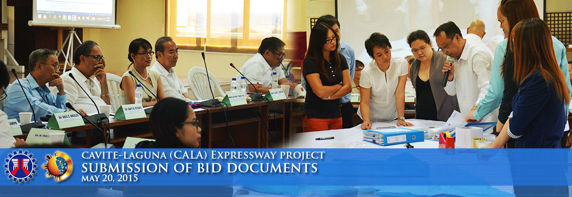 CALAX-Expreesway PQ documents submission