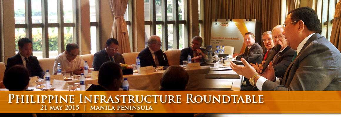 Philippine Infrastructure Roundtable - 21 May 2015