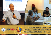 Training of Trainers on PPP and their applicable ADR Mechanisms