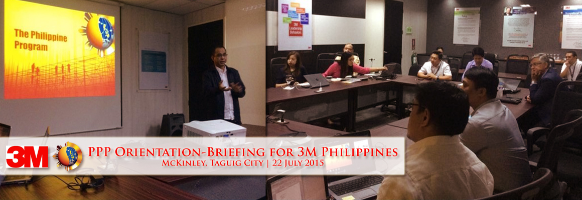 3M Philippines PPP Orientation-Briefing_22July2015