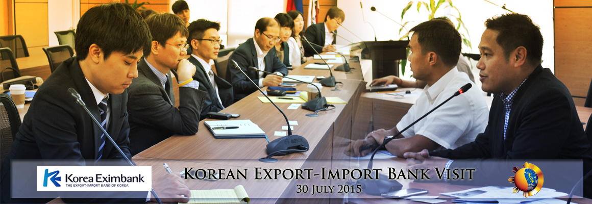 Korean Export-Import Bank Visit
