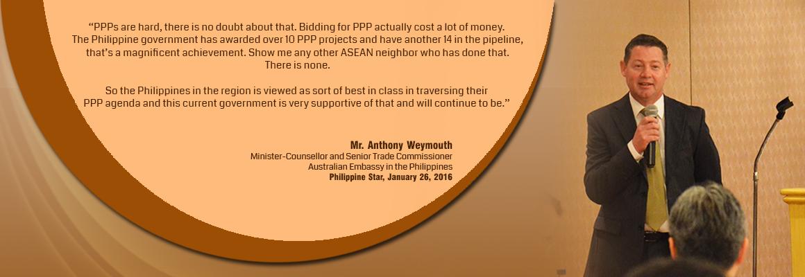 Australian trade exec lauds PPP program