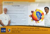 ADB supports PPP Center's Integrity Pledge