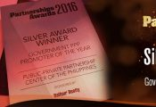 Silver Award for Government PPP Promoter of the Year