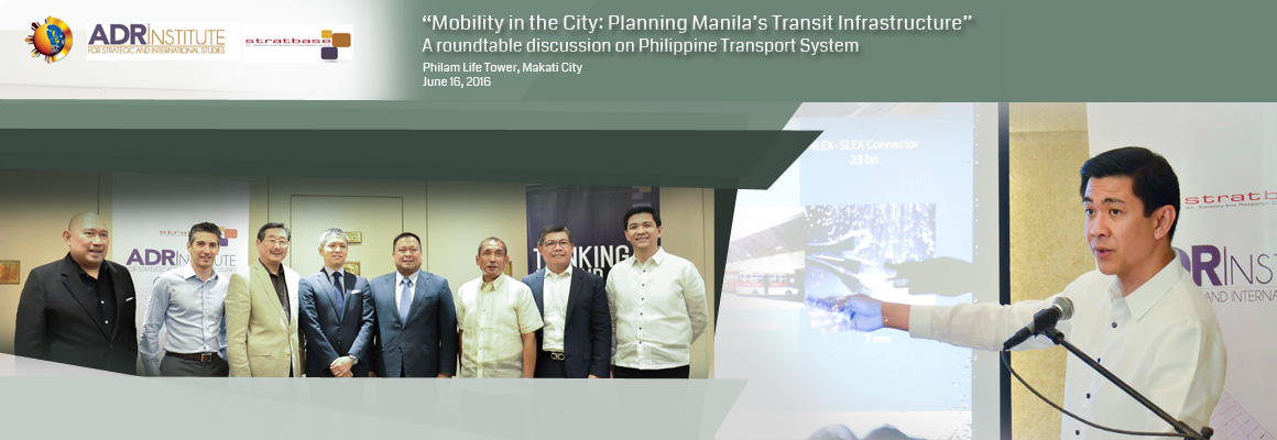 Mobility in the City: Planning Manila's Transit Infrastructure