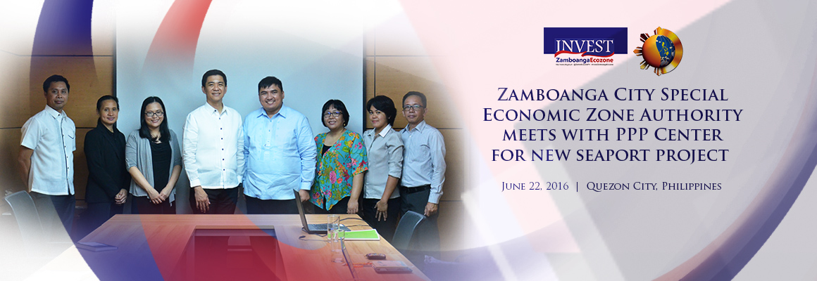 Zamboanga City Special Economic Zone Authority meeting with PPP Center