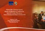 Philippine PPP Program briefing for Bandung, Indonesia Mayor