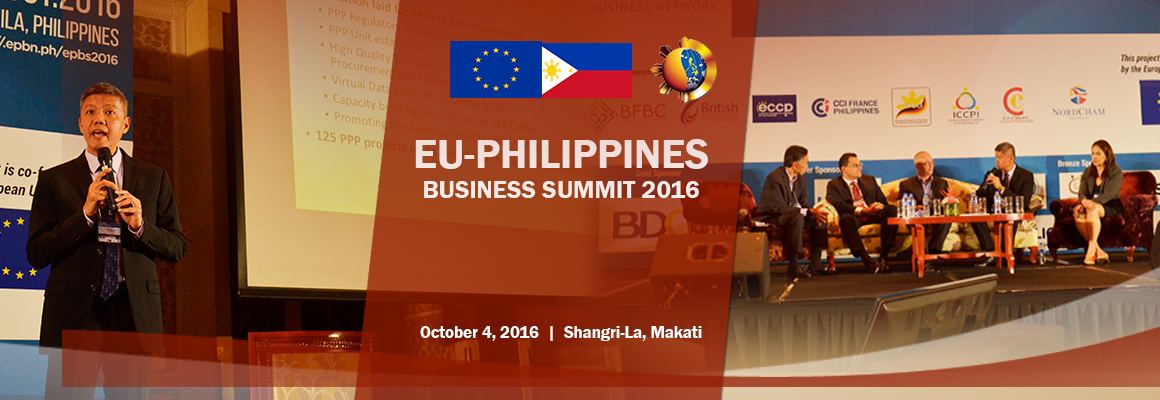 EU-Philippines Business Summit 2016