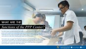 What are the functions of the PPP Center?