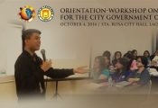 Orientation-Workshop on PPP concepts and processes for the City Government of Sta. Rosa