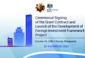 Foreign Investment Framework Launch