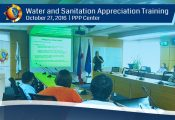 Water and Sanitation Appreciation Training