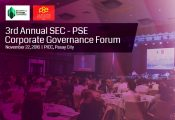 3rd Annual SEC-PSE Corporate Governance Forum