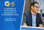 PH-Australia Business Council Roundtable Discussion