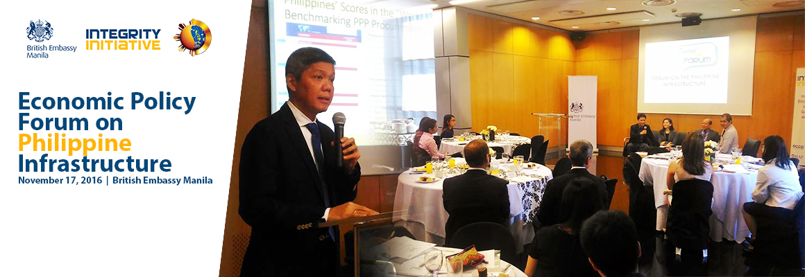 Economic Policy Forum on Philippine Infrastructure