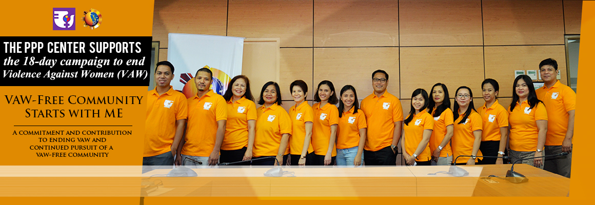 PPPC supports 18-day campaign to end Violence Against Women (VAW)