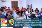 PPP Training for Development Partners in Western Mindanao (Batch 2)