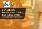 JICA Capacity Development Training Roll-out for DPWH
