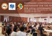 Mindanao Conference on Public-Private Partnership for the People Initiative for Local Governments (LGU P4)