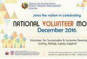 PPPC-PNVSCA national volunteer month celebration