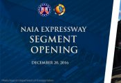 NAIA Expressway segment opening