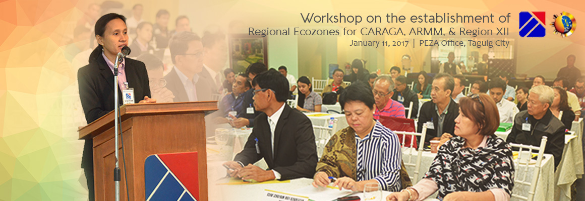 Workshop on the Establishment of Regional Ecozones for CARAGA, ARMM, & Region XII