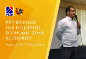 PPP Briefing for PEZA