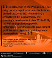 Statement of Timetric's Construction Intelligence Center