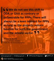 Statement of PPP Center Deputy Executive Director Ricote 2
