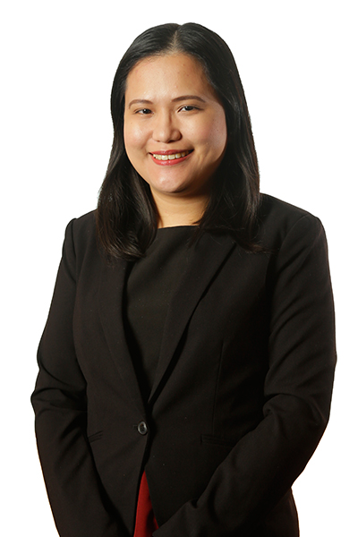 Deputy Executive Director Mia Mary G. Sebastian
