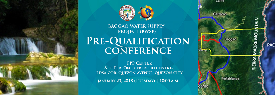 Prequalification conference for Baggao WSP
