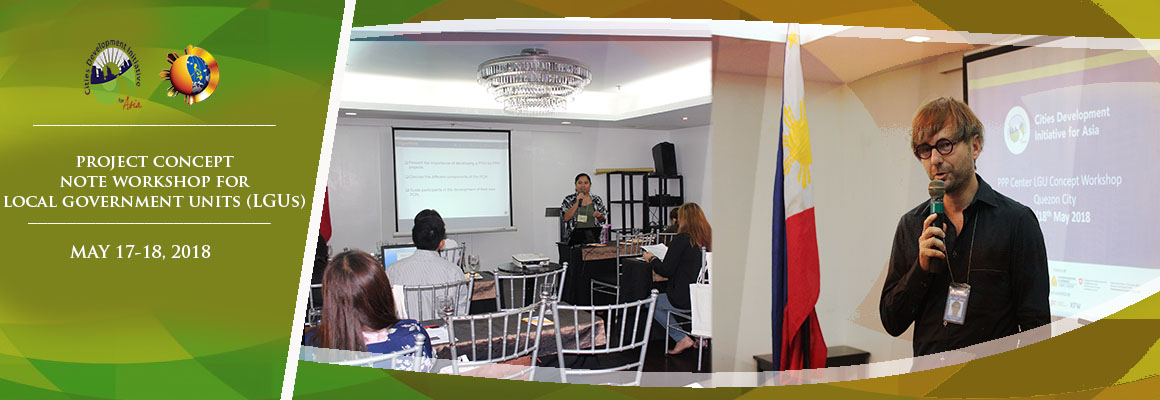CDIA Workshop for LGUs