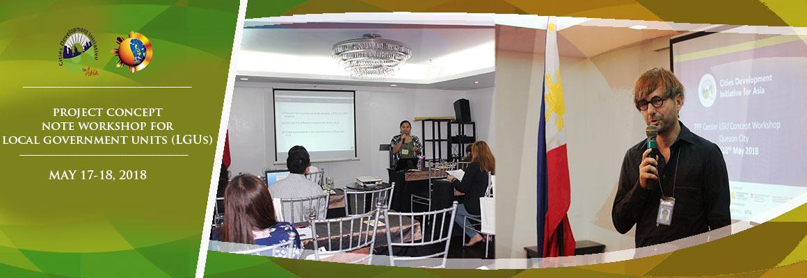 CDIA Workshop for LGUs