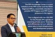 DED Eleazar Ricote in PPP Knowledge Corner