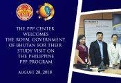Bhutan Delegation visits PPP Center for Study Visit
