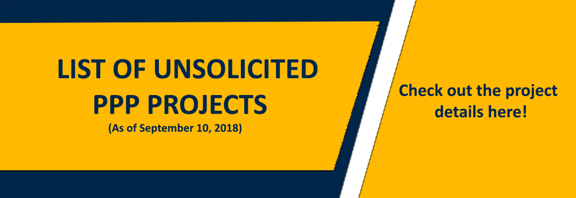 List of Unsolicited Projects