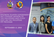Solomon Islands Government Study Visit