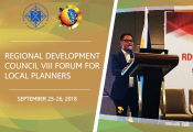 NEDA RDC VIII Forum for Local Planners