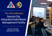 Pre-Bid Conference QC Integrated Solid Waste Management Facility