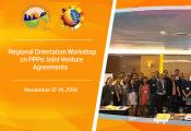 Regional PPP workshops on JV Agreements
