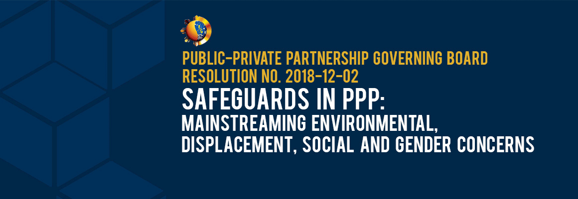 PPP Projects Social and Environmental Safeguards