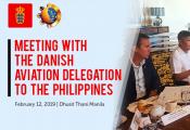 Danish Aviation delegation