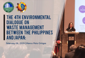 4th Environmental Dialogue and Workshop on Waste Management Between the Philippines and Japan