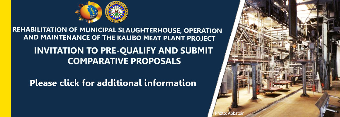 Invitation to Pre-qualify and Submit Comparative Proposals